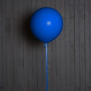 Шар гигант синий