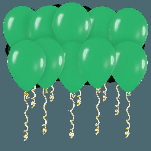Шары зелёные