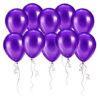 Шары фиолетовый металлик