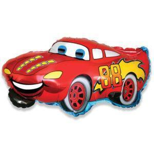 Шар Фигура «Гоночная машина красная»