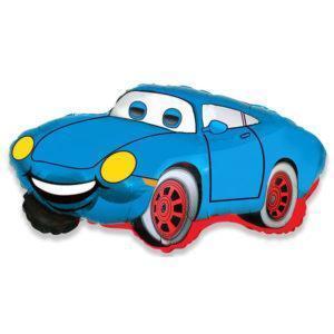Шар Фигура «Гоночная машина синяя»