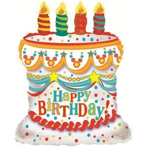 Шар Фигура «С Днем рождения (торт)»