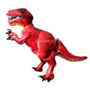 Шар Ходячая Фигура «Динозавр красный»