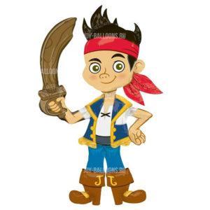 Шар Ходячая Фигура «Джейк Пират»