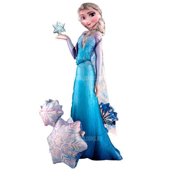 Шар Ходячая Фигура «Холодное сердце. Принцесса Эльза»