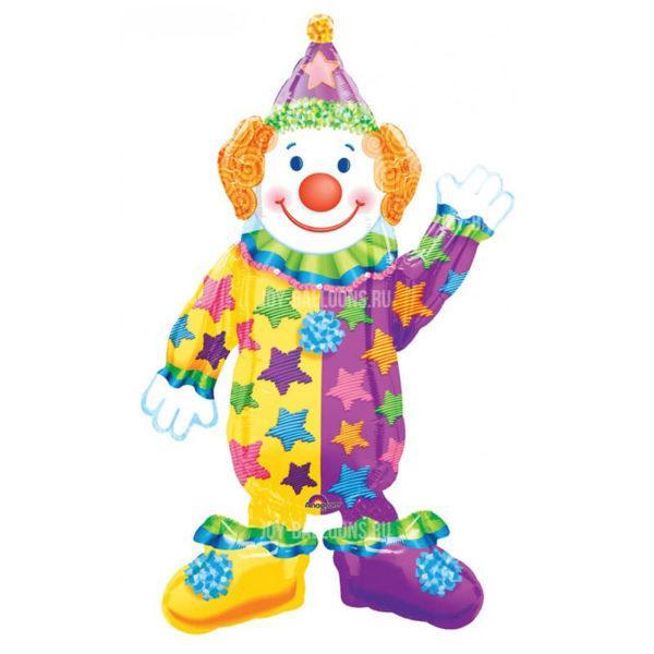 Шар Ходячая Фигура «Клоун»