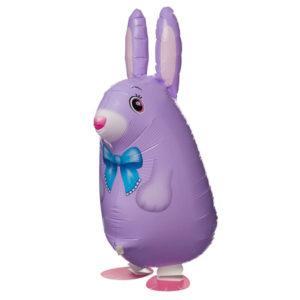 Шар Ходячая Фигура «Кролик, Фиолетовый»