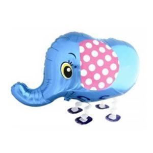 Шар Ходячая Фигура «Слоник, Синий»