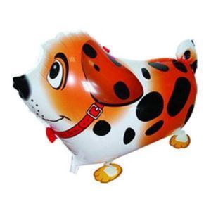 Шар Ходячая Фигура «Собака далматин, Оранжевый»