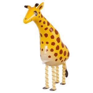 Шар Ходячая Фигура «Жираф, Желтый»