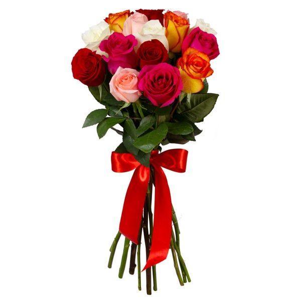 Розы MIX (Premium) 60 cm