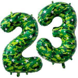 Фольгированный шар «Цифра 23»